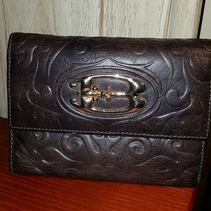 🇮🇹 Braccialini Leather Wallet Made in Italy